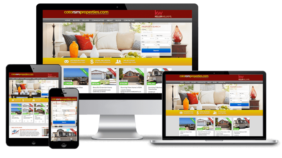 Coto RSM Properties Website Design
