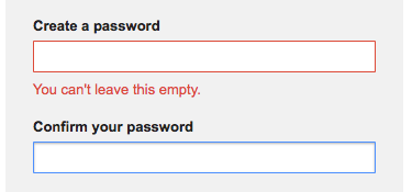 Create Gmail Password