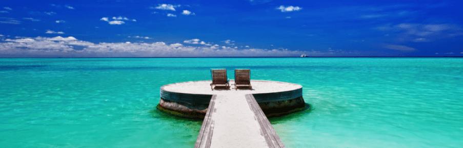 Aqua Blue Ocean
