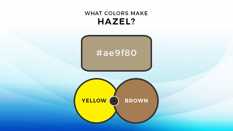 What colors make hazel