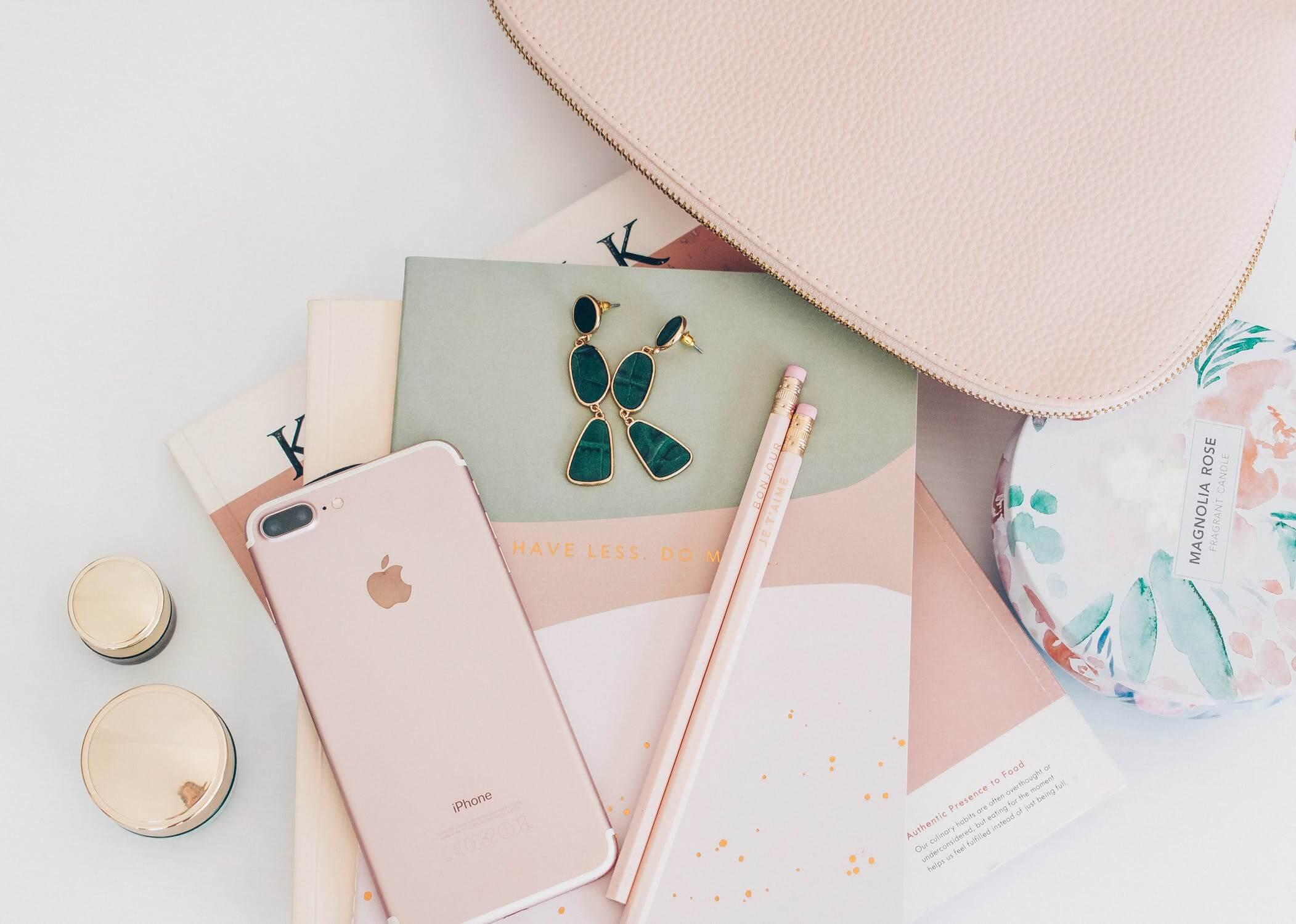 Rose Color Accessories