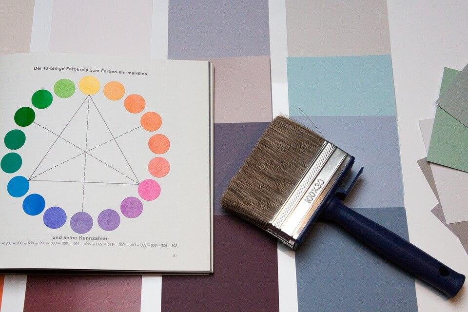 Plum Color Paint Palette