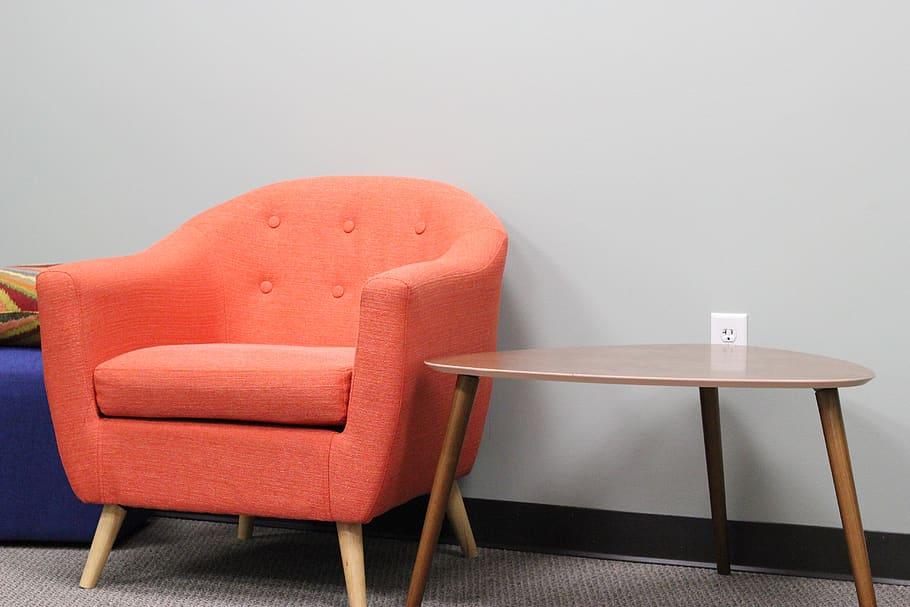 Orange Chair, Interior