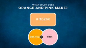 What Color Does Orange and Pink Make