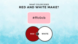 What Color Does Red and White Make