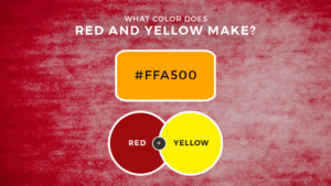 What Color Does Red and Yellow Make