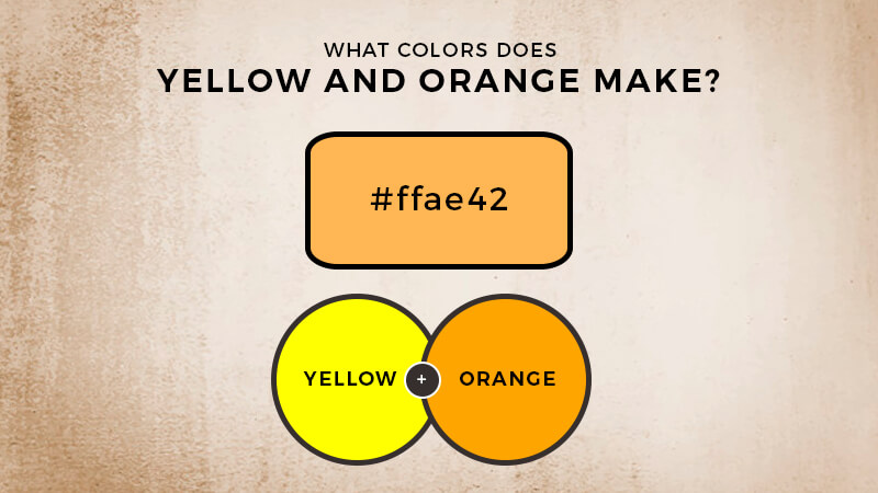 What color does orange and yellow make