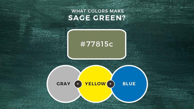 What colors make Sage Green