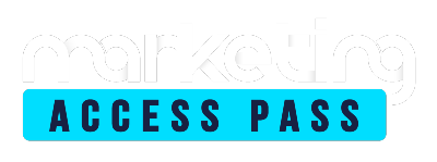 MARKETING ACCESS PASS LOGO WHITE