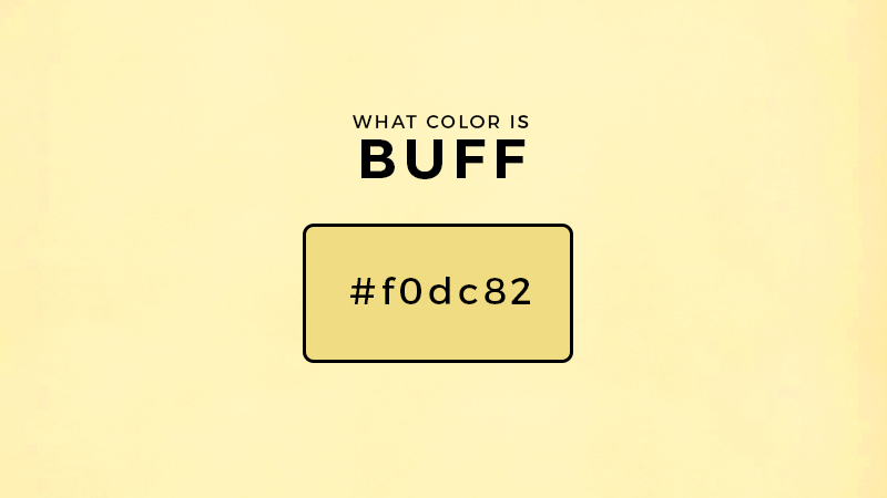 What color is buff