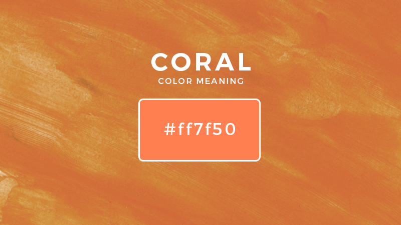 coral color meaning