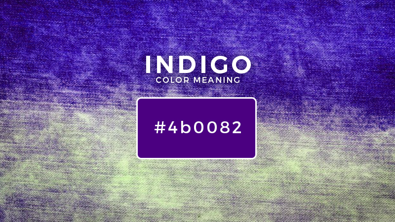 indigo color meaning
