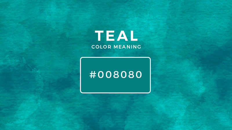 teal color meaning