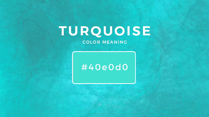 turquoise color meaning