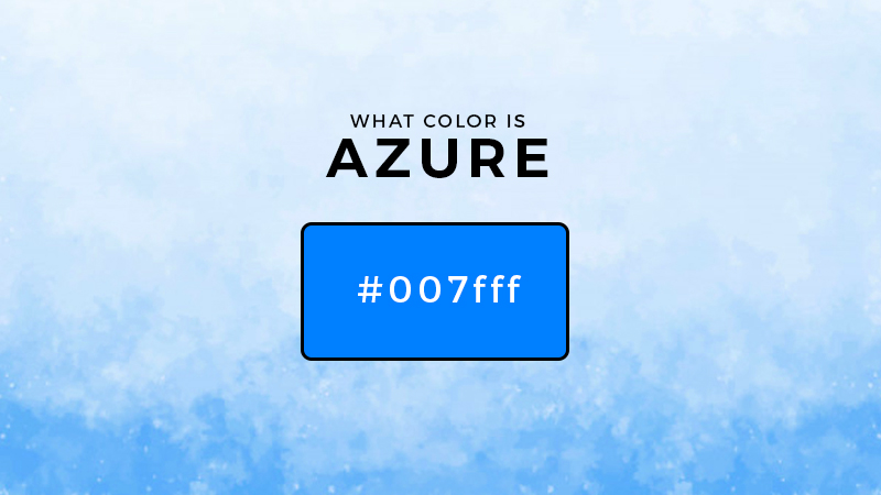 what color is azure