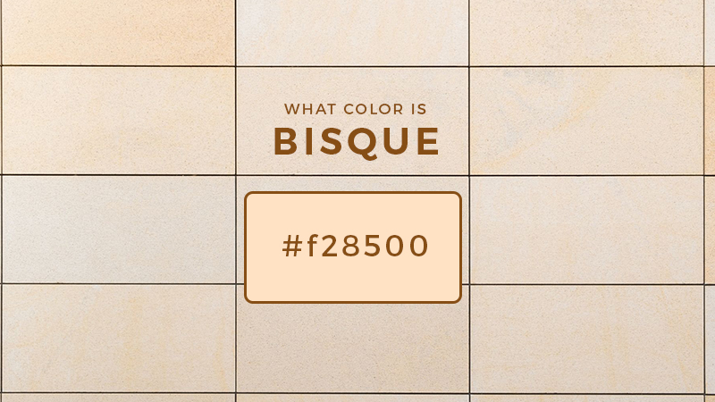 What color is bisque color